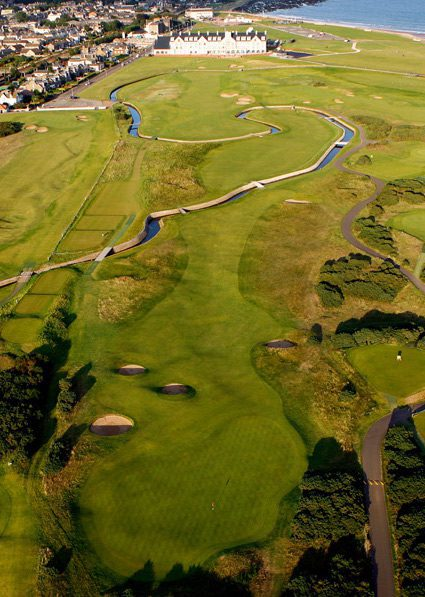 Most Famous Golf Course in Scotland
