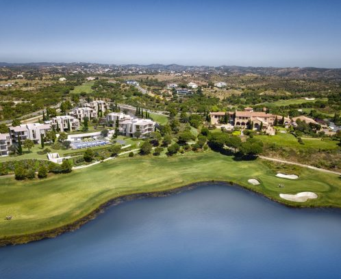 MOnte Rei Clubhouse ResidenceAerial view from South - original